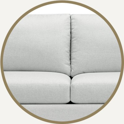 seat and back cushion