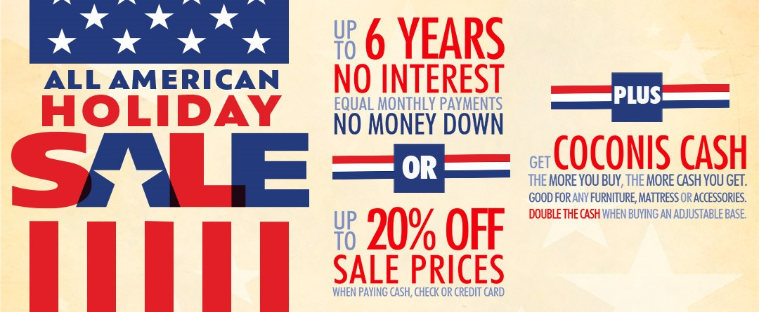 All-American Holiday Sale