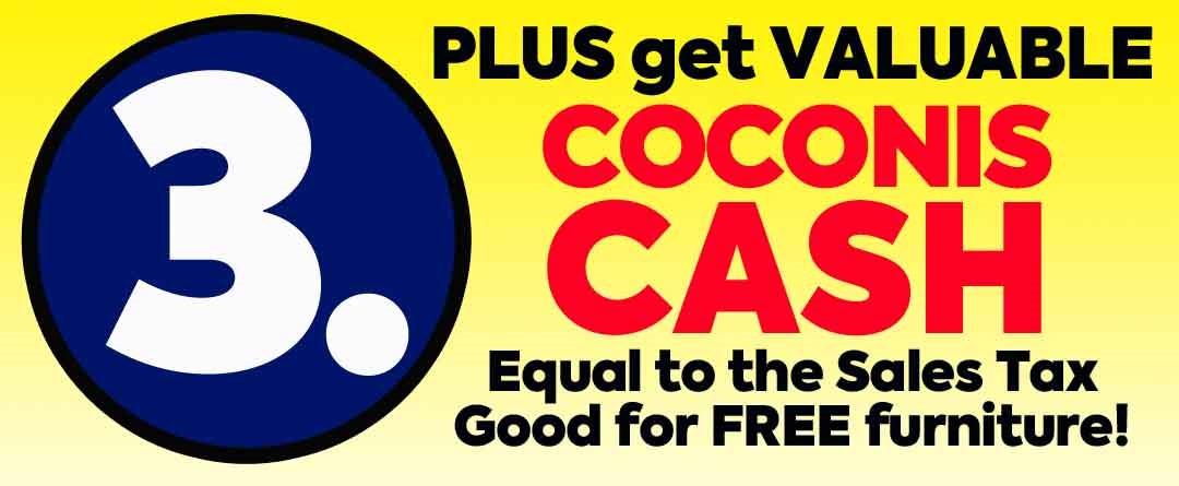 Valuable Coconis Cash