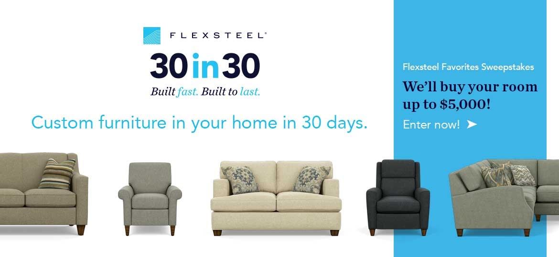Flexsteel 30 in 30
