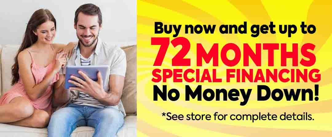 72 Month Special Financing