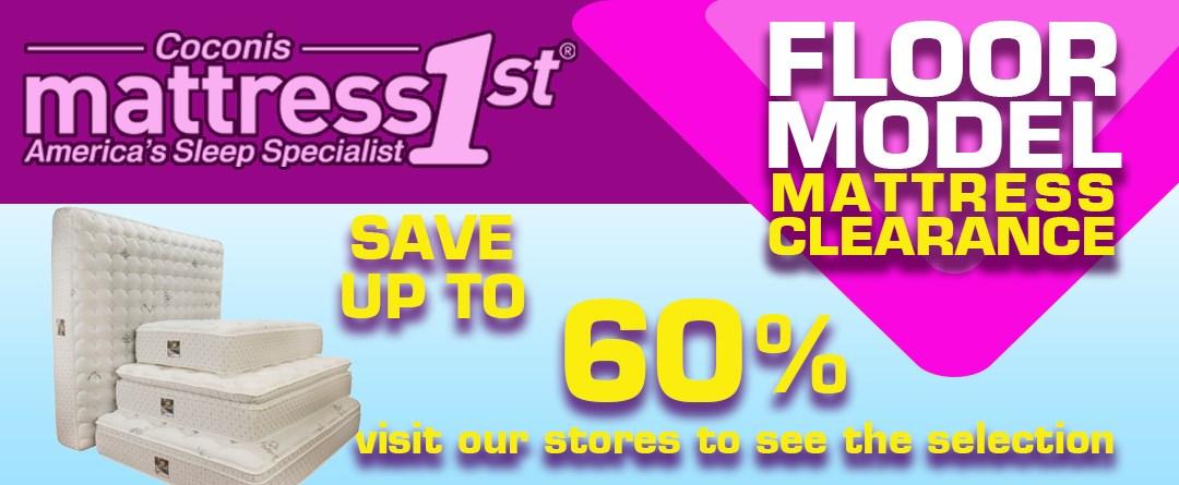 Mattress Closeout Sale