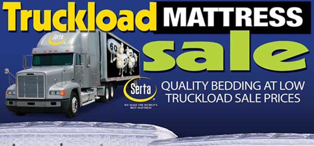 Truckload Mattress Sale!