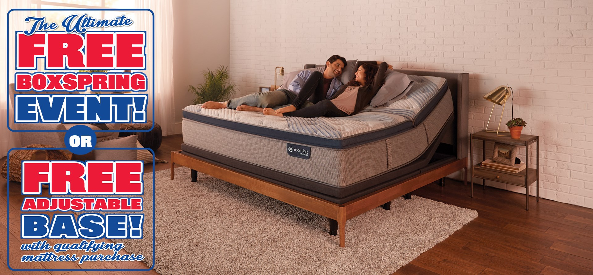 The Ultimate Free Boxspring Event, going on now!