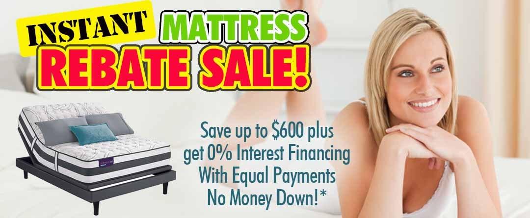 Instant Matress Rebate Sale