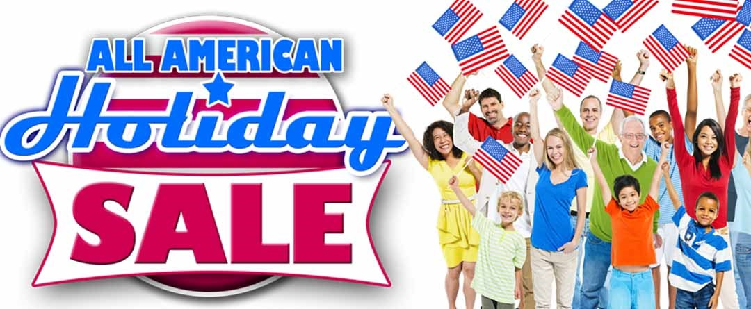 All American Holiday Sale