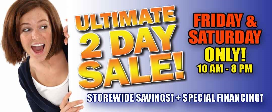 Ultimate 2 Day Sale 2019