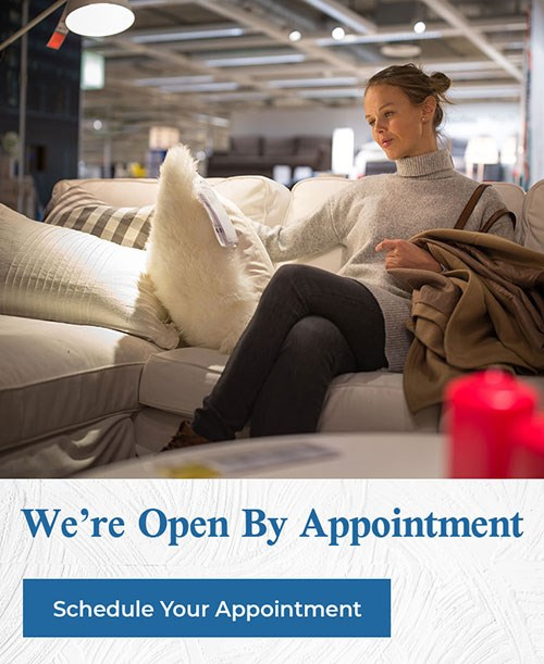 We're Open By Appointment | Schedule Your Appointment