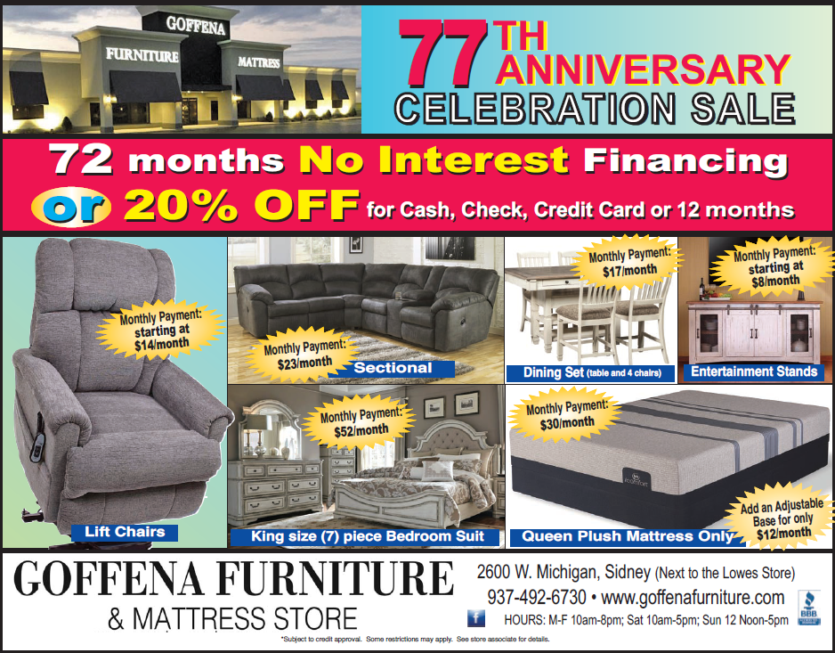 77th ANNIVERSARY SALE