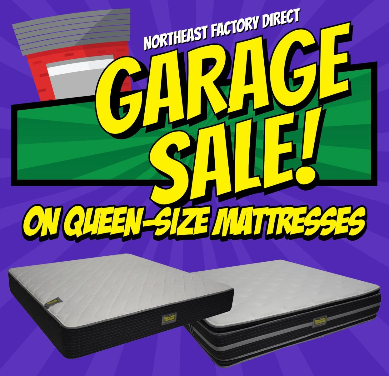 Northeast Factory Direct Garage Sale 2020