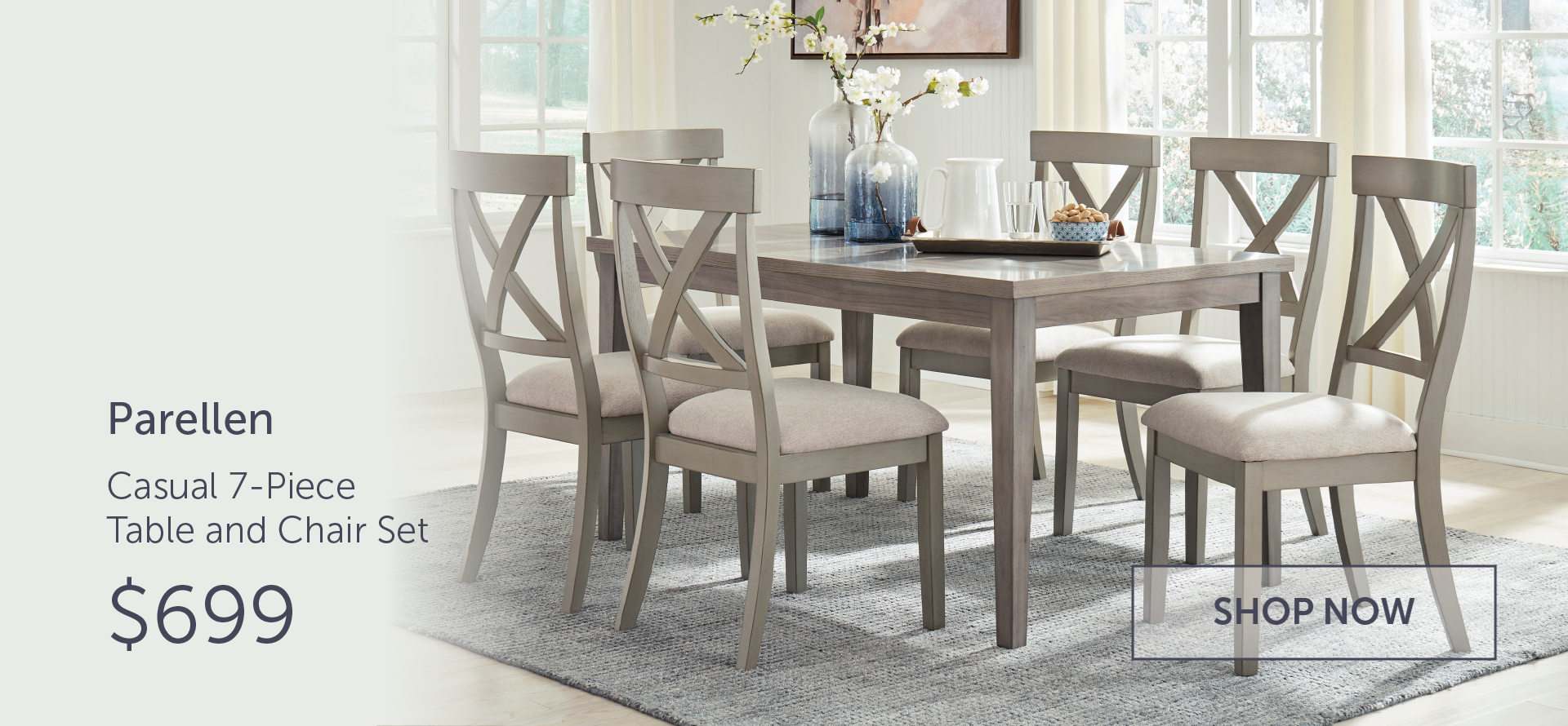 d291 table and 6 chairs