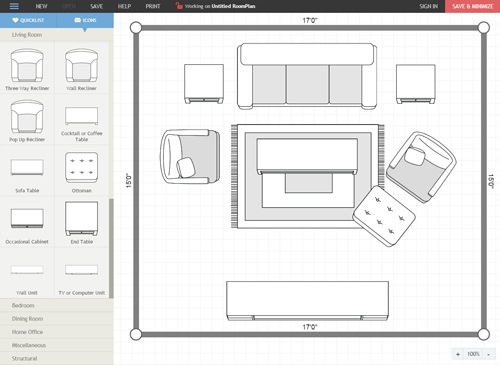 Introduction to the Room Planner Tool