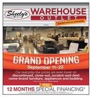 Warehouse Outlet Opening Event