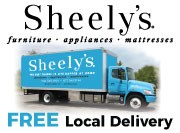 sheely's free local delivery