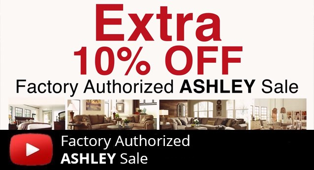 Factory Ashley Furniture Event