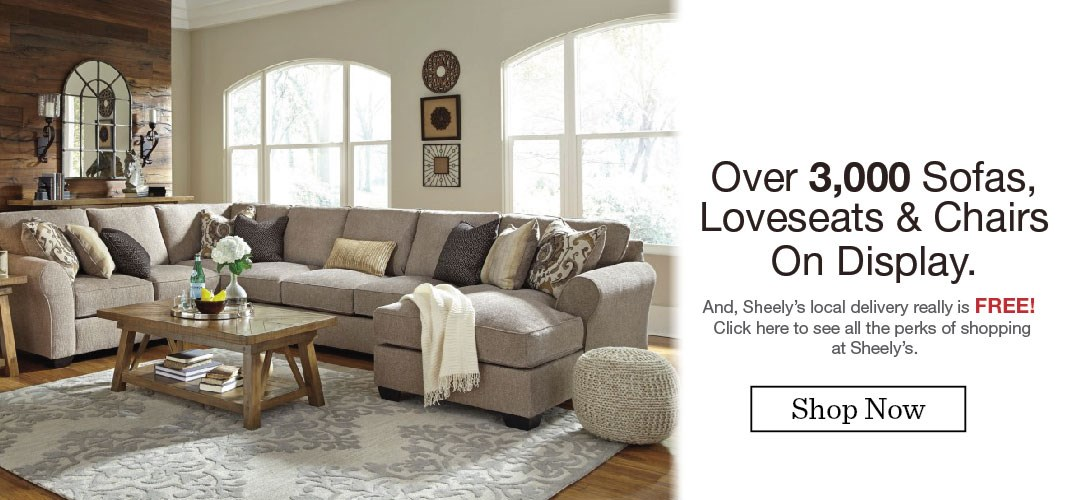 Outdoor Living 2018 · Amish Furniture · Sofas, Love Seats · Frigidaire New