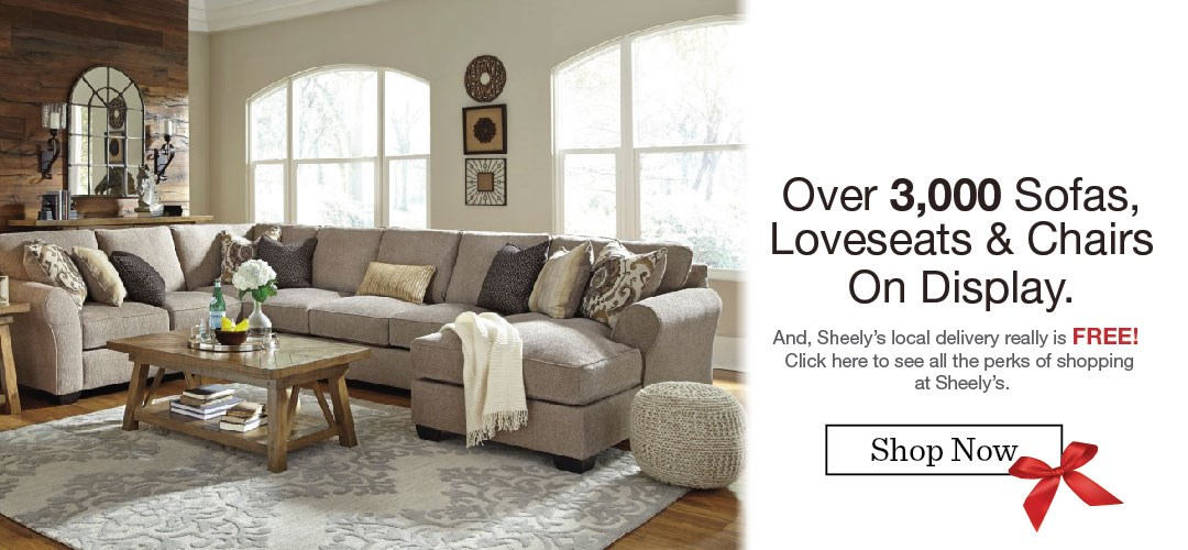 Sofas, love seats