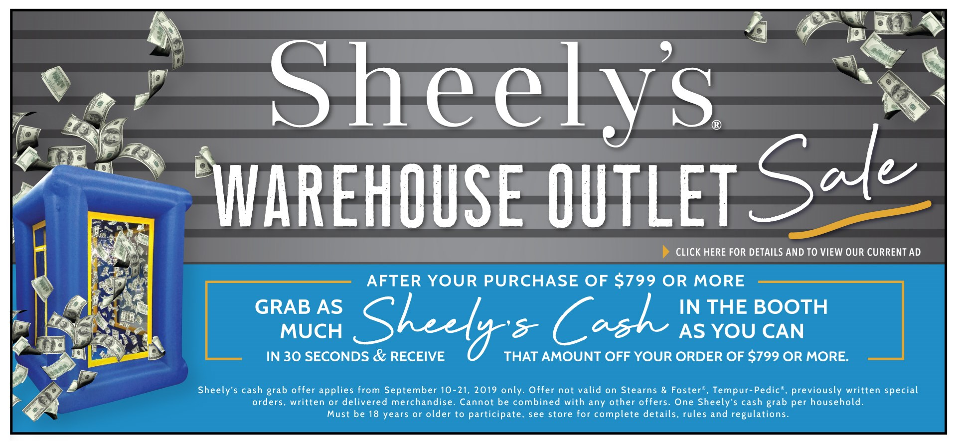 Warehouse Outlet Sale SEP 2019 1