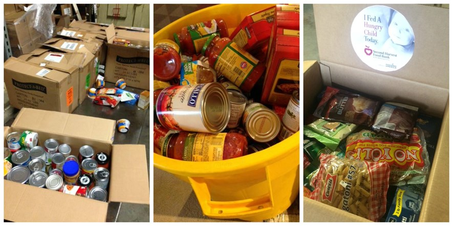 Sheely's donates to Second Harvest Food Bank