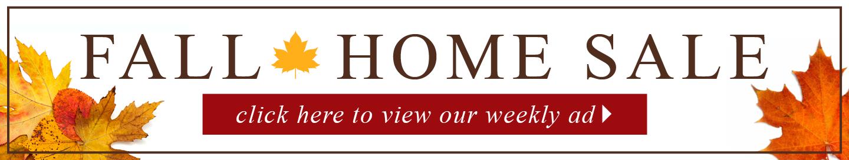 Fall Home Sale