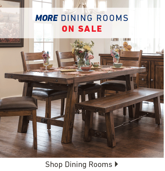 More Dining Rooms on Sale