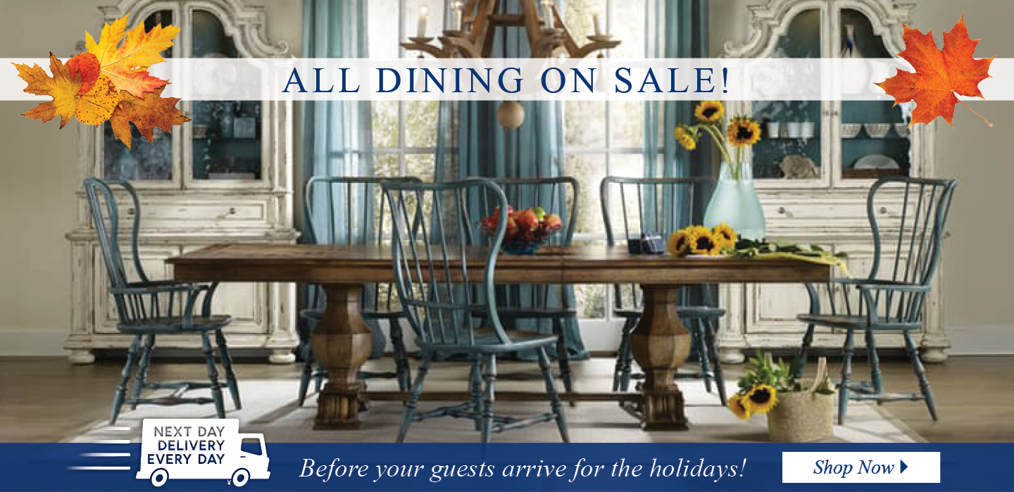 All Dining on SALE!