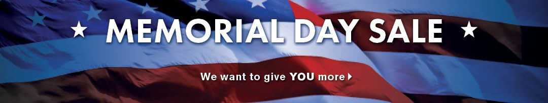 Memorial Day Sale financing