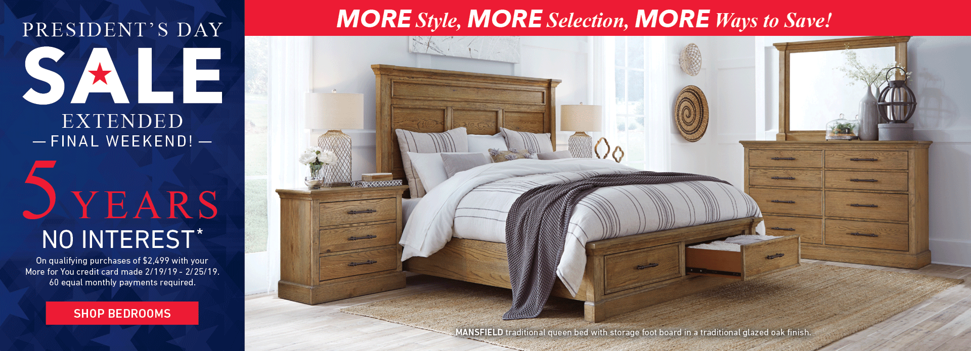 More Bedrooms on Sale