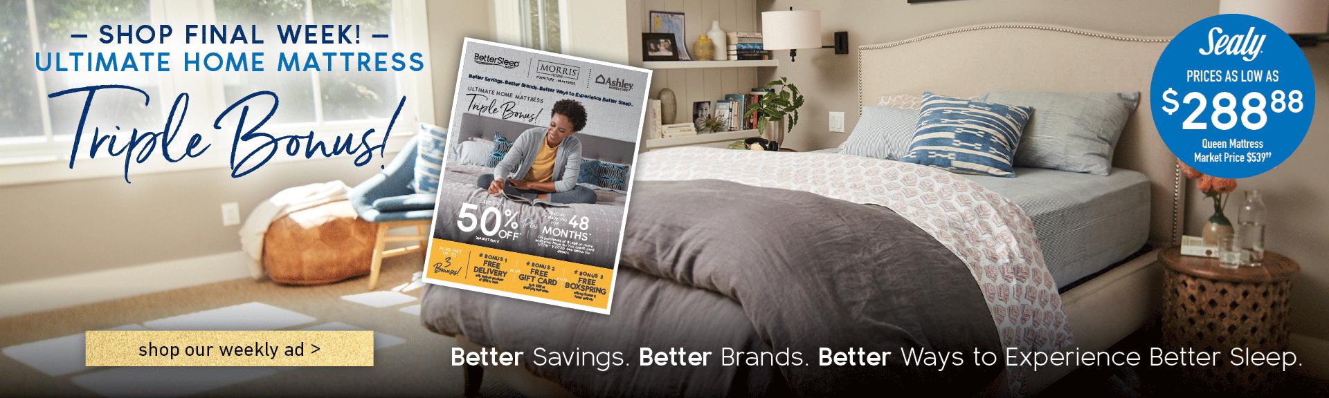 Better Sleep Shop Sale