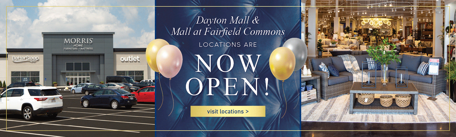 Open Now! New Dayton Locations