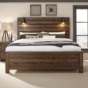 Urban Loft bedroom