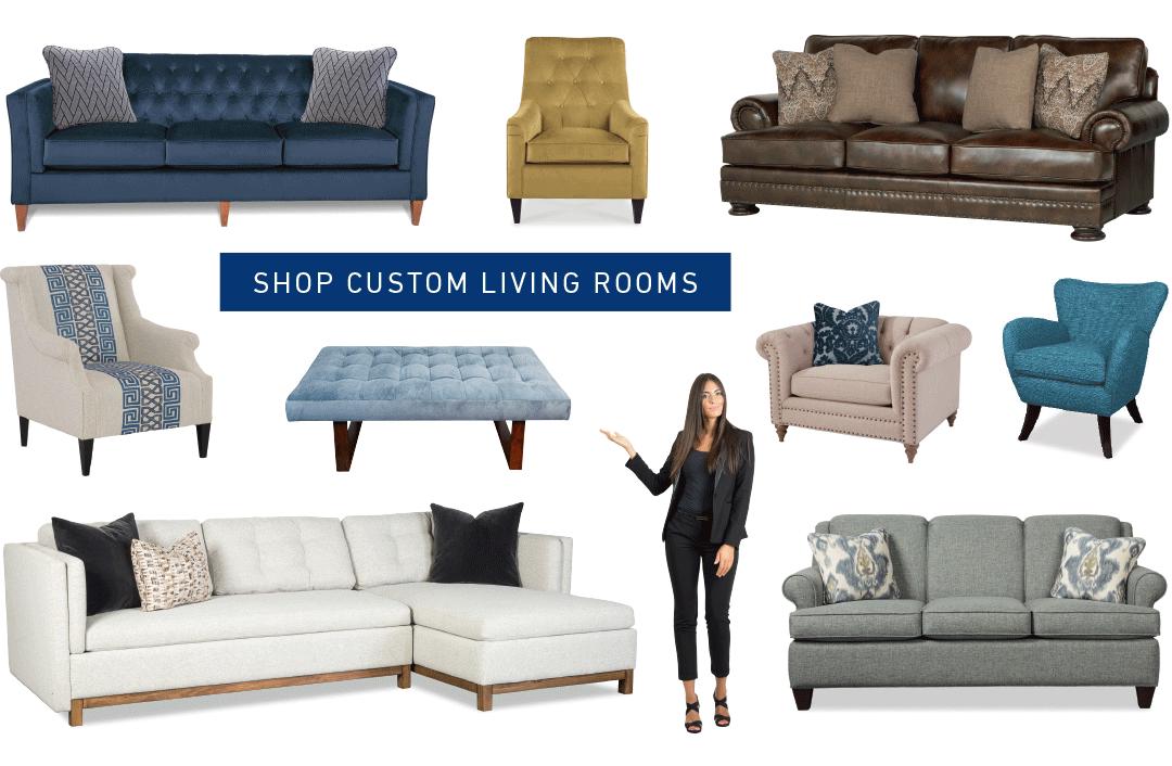 shop custom living rooms