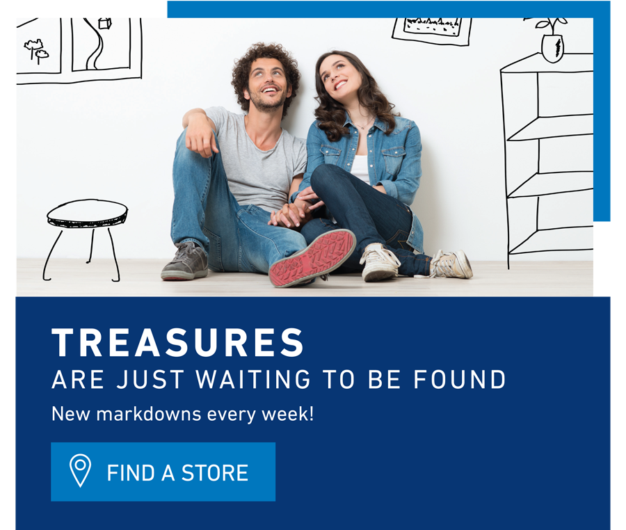 treasures waiting for you
