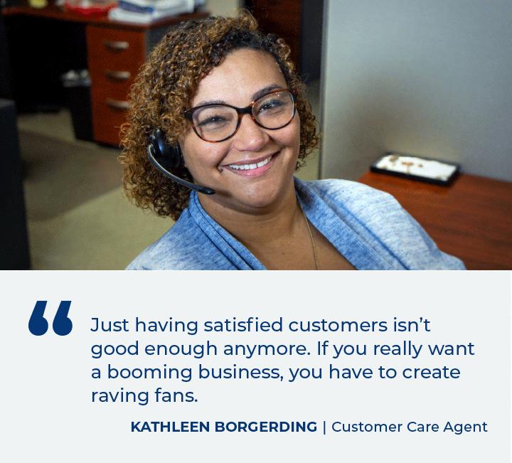 Customer Care Careers Testimonial Mobile
