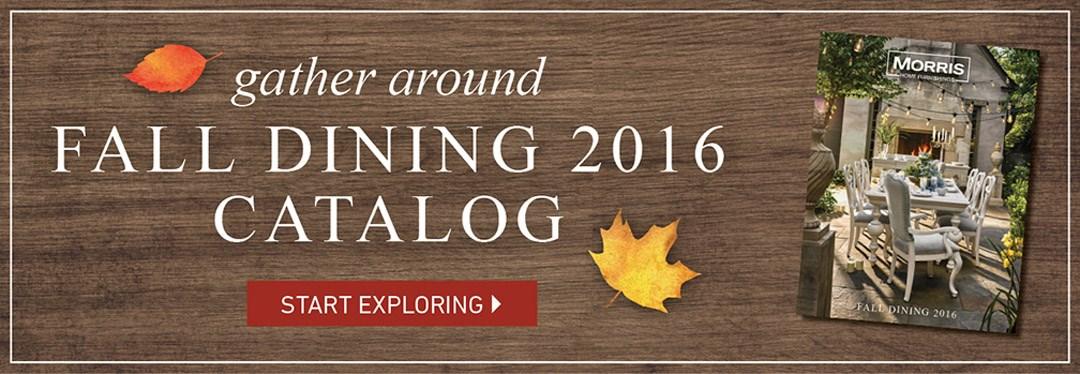 fall dining catalog