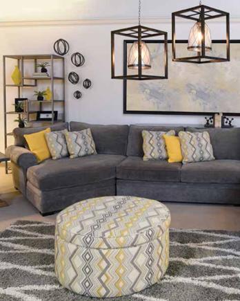 Urban Loft Living Room