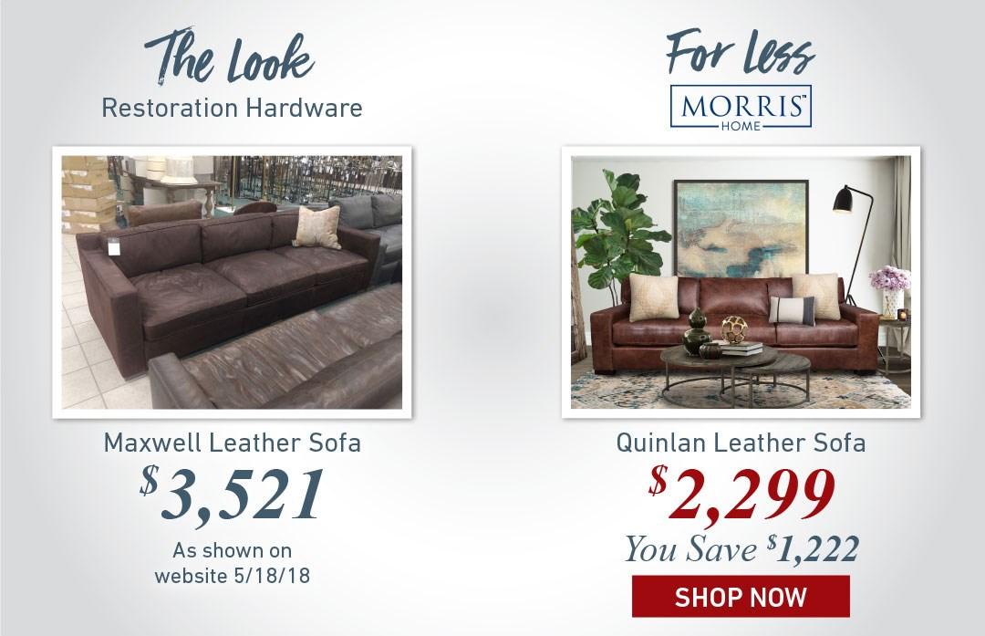 Quinlan Leather Sofa