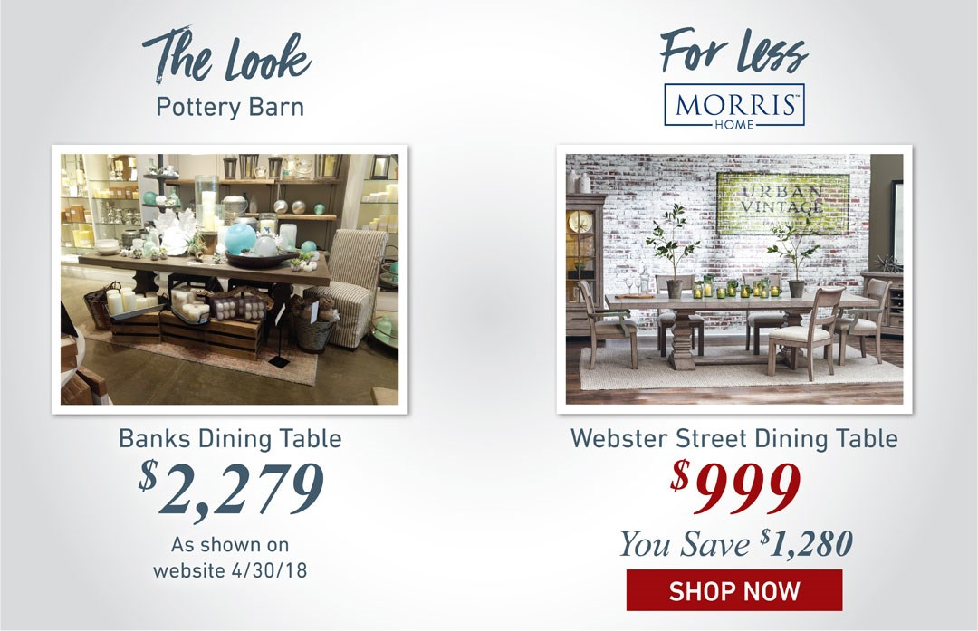 Webster Street Dining Table