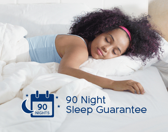 90 night sleep guarantee