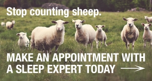 A picture of sheep saying