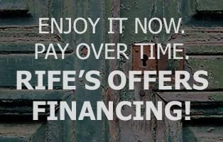 Rife's Financing
