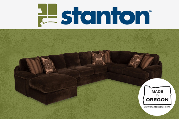 For over 40 years Stanton family companies have manufactured more upholstered furniture than any other northwest company. Crafted with many unique features, Stanton sofas will last a lifetime.