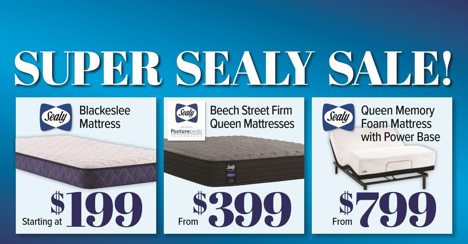 Super Sealy Sale