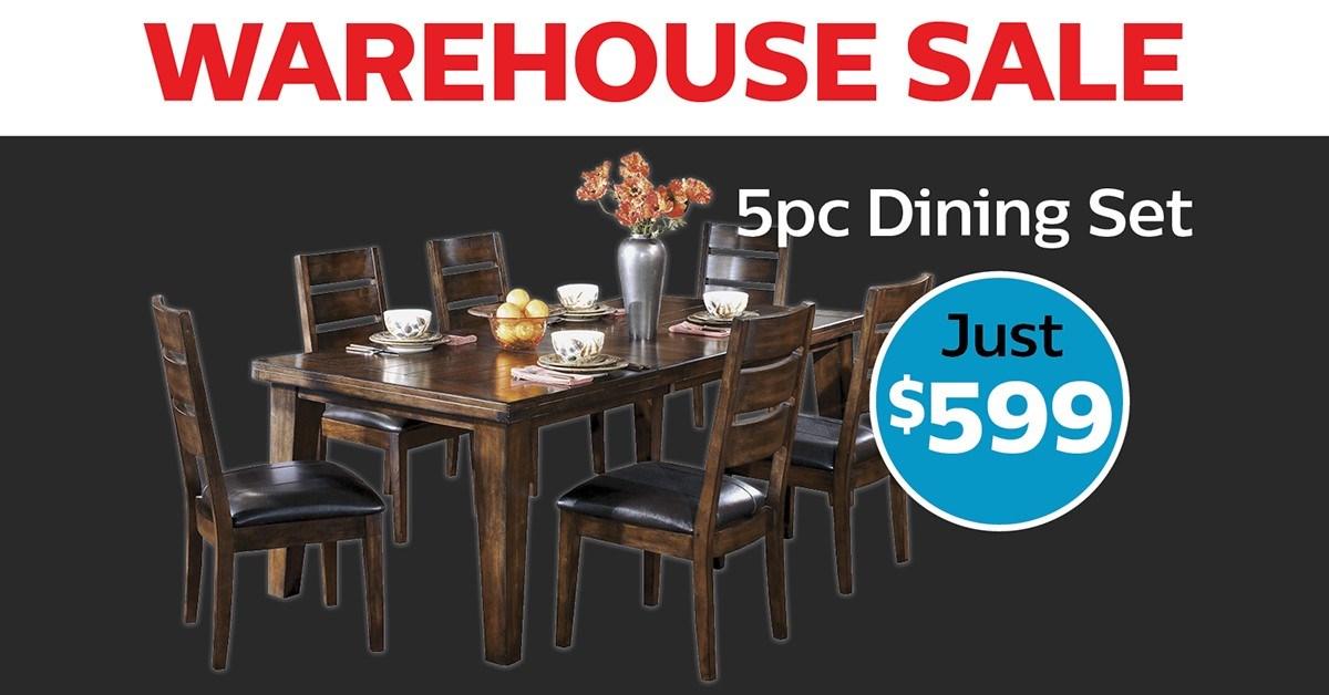 Warehouse Sale Dining Set
