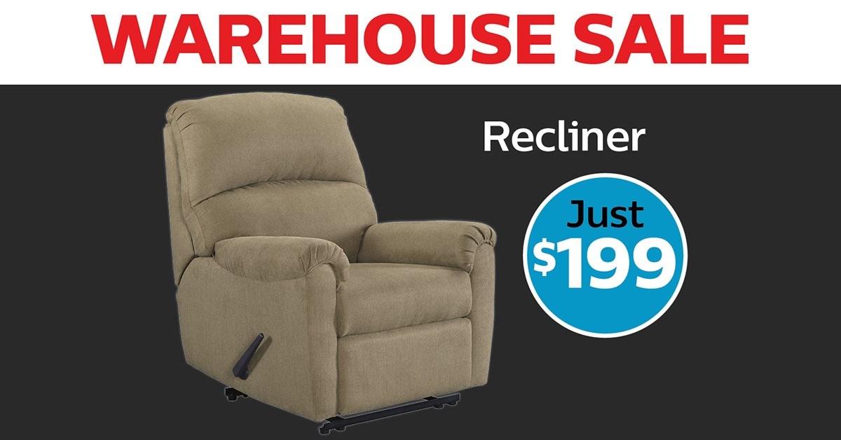 Warehouse Sale Recliner