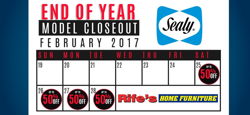 Sealy Closeout