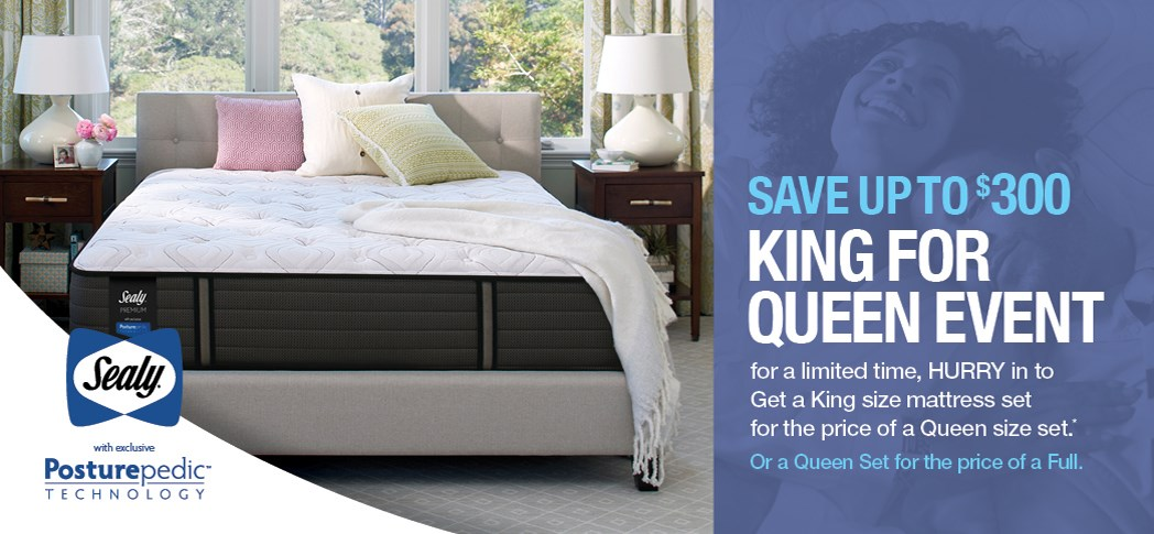 Not One Penny Down King for Queen Mattresses. Rife s Home Furniture   Eugene  Springfield  Albany  Coos Bay