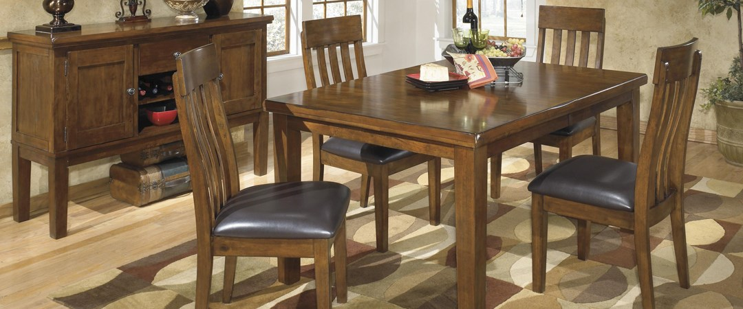 Top dining sets rife 39 s home furniture eugene for Top rated dining room tables