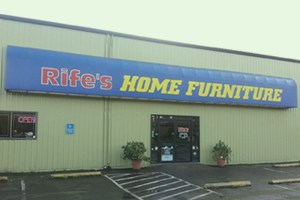 rife's home fuirnishings corvallis highway store