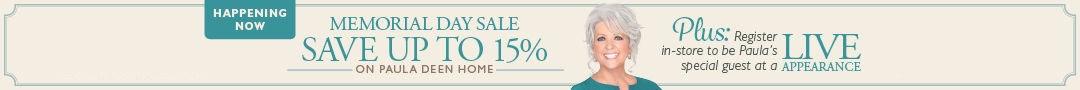paula deen sale happening now